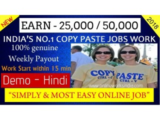 Earn in online jobs