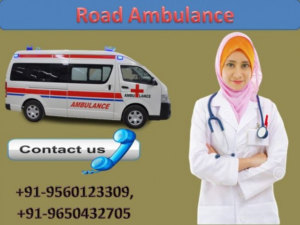hire-medivic-road-ambulance-service-in-gaya-with-patient-caring-medical-team-big-0
