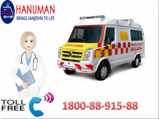 Top Class Road Ambulance Service in Siwan by Hanuman Ambulance