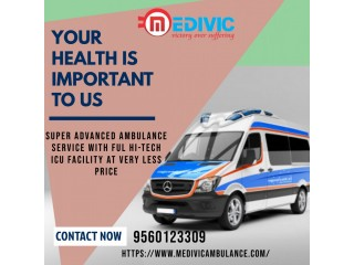 Impeccable Medical Care by Medivic Ambulance Service in Patna