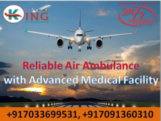Hire Famed Air Ambulance from Mumbai at Low-Price by King