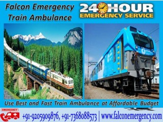 Use Falcon Emergency Train Ambulance in Delhi with ICU Facility at Low Cost