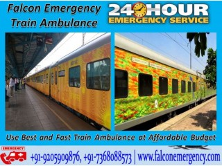 Use Falcon Train Ambulance Services in Bangalore for Critical Patients Shifting