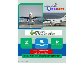 Well-Equipped Medilift Air Ambulance Service in Bangalore
