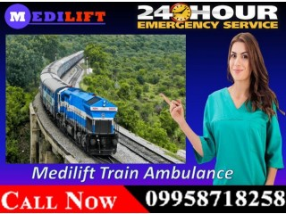 Get Medilift Train Ambulance Facilities in Bangalore with Reliable Facility