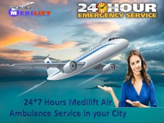 Get the Affordable & Incomparable ICU Air Ambulance Service in Allahabad via Medilift