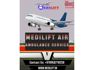 Get the Significant Air Ambulance Service in Jamshedpur via Medilift
