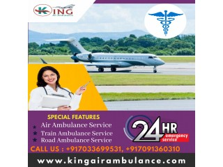 Get Awesome Medical Support by King Air Ambulance Service in Patna