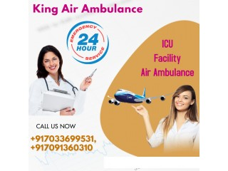 Book Outstanding Healthcare by King Air Ambulance in Guwahati