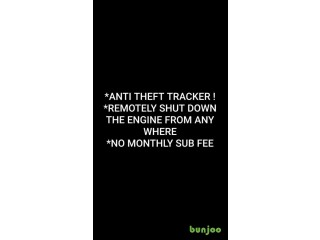 Anti theft Tracker - Remotely shut down engine from any where