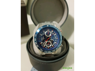TAG HEUER BLUE SILVER
