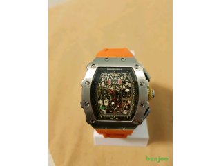 RICHARD MILLE ORANGE SILVER