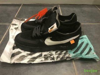 Nike Air Force 1 x Off White Trainers UK 9