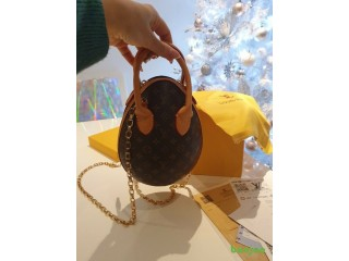 Louis Vuitton Egg Hand Bag Real Leather