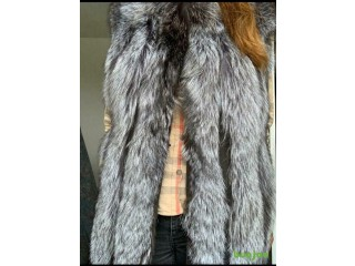 Real winter fur coats