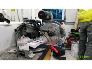 Bosch GCM12GDLGTA 240v (BNIB) 12in Glide Mitre Saw with Gravity Rise Stand & New spare Blade