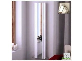 Vertical aluminium mirror radiator