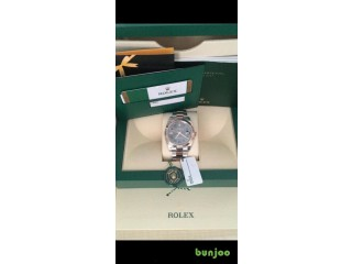 NO OFFERS Rolex Datejust ii 2 41 steel & Rose gold wimbledon dial - 126331