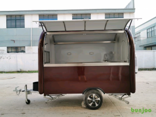 New EC Type-Approval Mobile Catering Trailer Burger Van Bar Coffee Cre