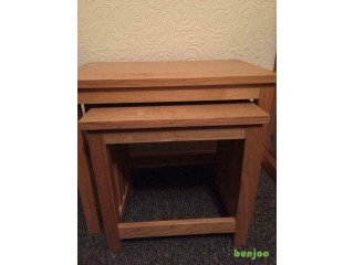 Nest of two tables