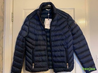 Navy Blue Moncler Jacket, coat