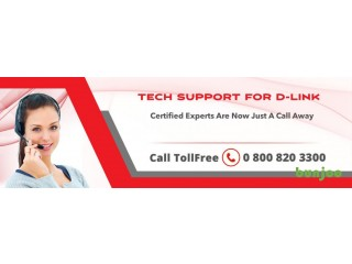 Dlink Support Number 08008203300 UK