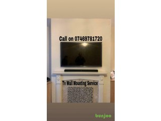 TV Wall Mounting Service.Tel: 07469781720