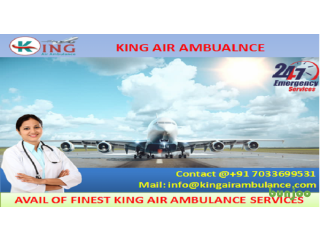 Take on Rent Best Air Ambulance Services in Chennai by King