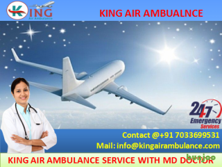 Get Outstanding Air Ambulance Services in Bokaro at Low Cost by King