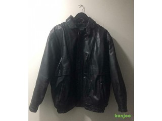 LEATHER JACKET (GENUINE LEATHER)