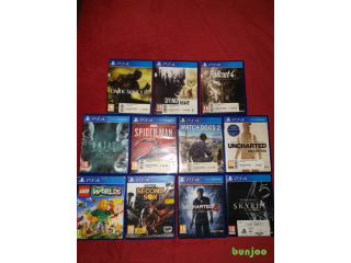 11 PS4 Games + 3 Free PS4 Games
