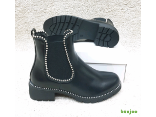 Ladies Chelsea studded ankle boots