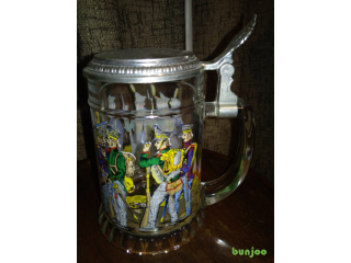 German tankard with metal lid £8