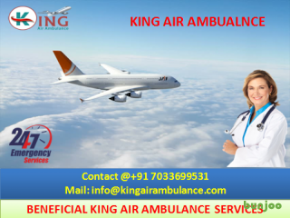 Most Popular Best King Emergency Air Ambulance from Bagdogra
