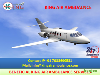 Outstanding Emergency Air Ambulance from Allahabad by King