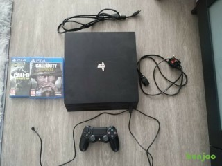 Sony PS4 Pro 1TB with 2 games
