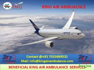 Get Advanced Air Ambulance Services in Hyderabad at Low Cost by King