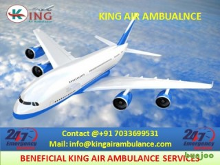 Get Classy Air Ambulance Services in Vellore at Low Fare by King