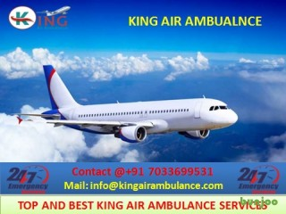 Advantages of King Air Ambulance Services in Bagdogra to Take on Rent