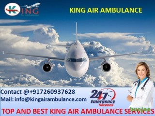 Finest King Emergency Air Ambulance Services in Bhopal