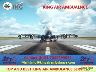 Get Best King Air Ambulance Services in Varanasi with Benefits