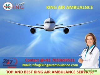 Get Avail of King Emergency Air Ambulance Services in Siliguri