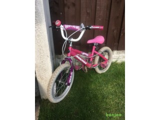 """Girls 16"""" bike magna can deliver for a small charge"""