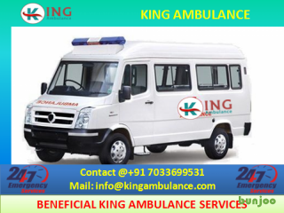 Get Outstanding Road Ambulance in Jamshedpur with Doctor by King