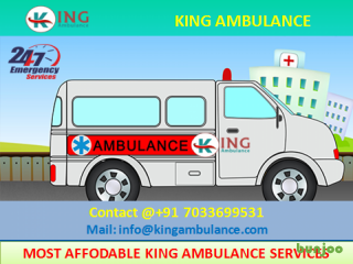 Hire Top-Class Emergency Ambulance in Patna by King