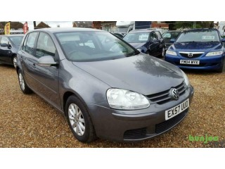 2007 Volkswagen Golf 1.6 FSI ( 115PS ) Hpi Clear,Warranted Mileage.