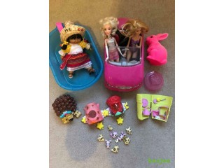 Girls toys and accessories bundle