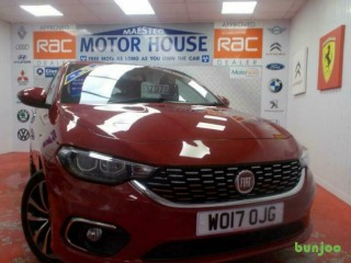 Fiat Tipo LOUNGE(SAT NAV AND ONLY 35880 MILES) FREE MOT'S AS LONG AS YOU OWN THE
