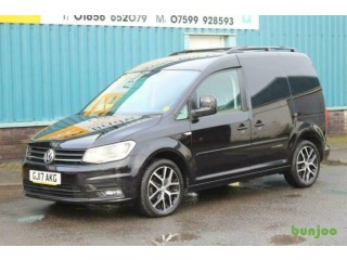 2017 VOLKSWAGEN CADDY C20 2.0 TDI 102 BHP BLACK EDITION DIESEL MANUAL VAN, RARE