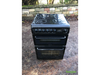 60cm wide glass top cooker £120 perfect working order